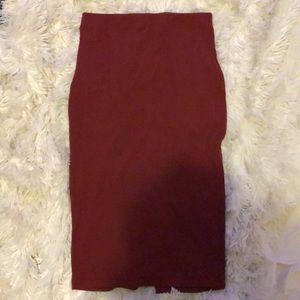 Forever 21 mid-length pencil skirt